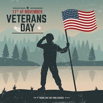 Vintage veterans day