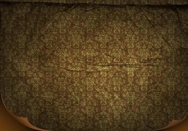 ヴィンテージの壁紙。ベクトルイラスト