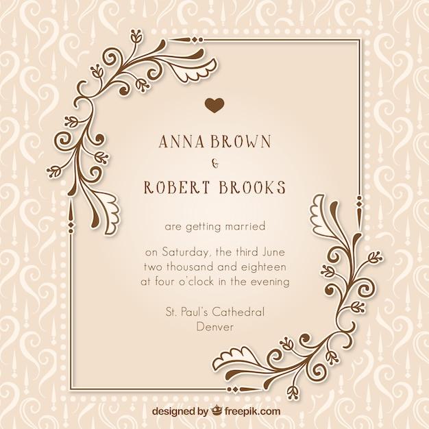 wedding invitations photoshop templates