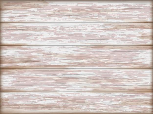 Vintage white wooden background