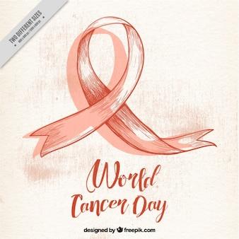 Vintage world cancer day background