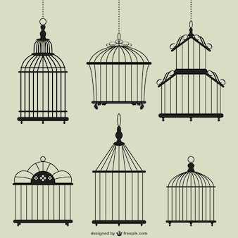 Vintage клетки для птиц