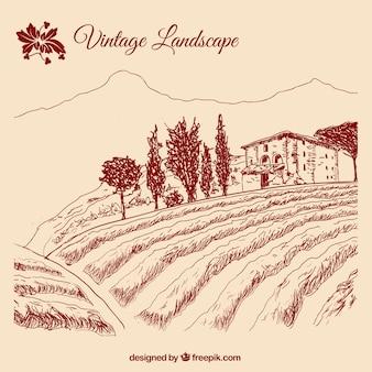 Vintage пейзаж