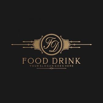Логотип ресторана vintge