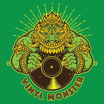 Vinyl giant monster