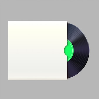 Vinyl record in pack