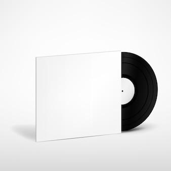 커버 목업 비닐 레코드
