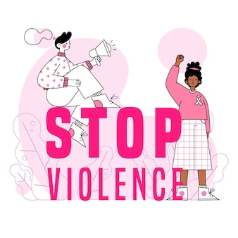 Violence against women stop abuse