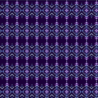 Violet and dark blue songket pattern
