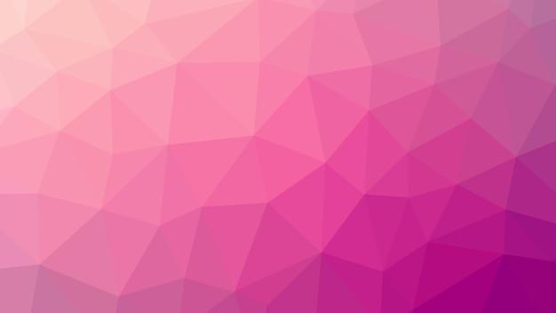 바이올렛 기하학적 낮은 폴리 삼각형 모양 패턴