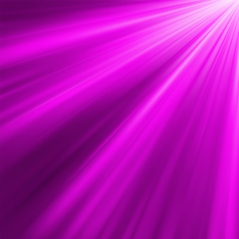 Violet luminous rays.   file included