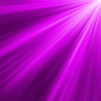 보라색 발광 광선. 포함 된 파일