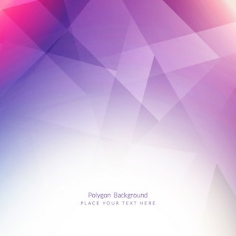 Violet polygonal background