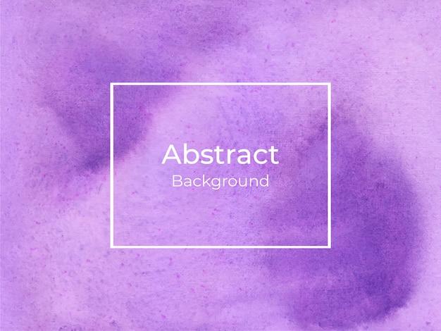 Violet watercolor splash background texture