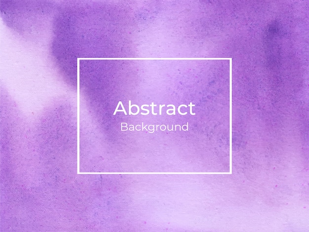 Violet watercolor splash background