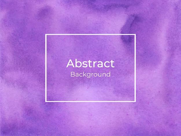 Violet watercolor splash texture background