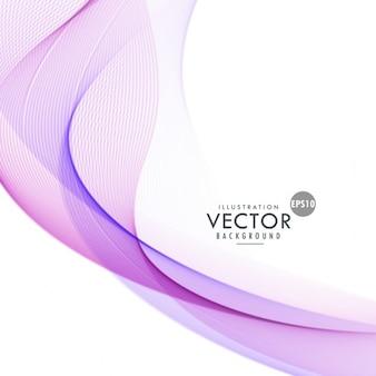 Violet wavy background