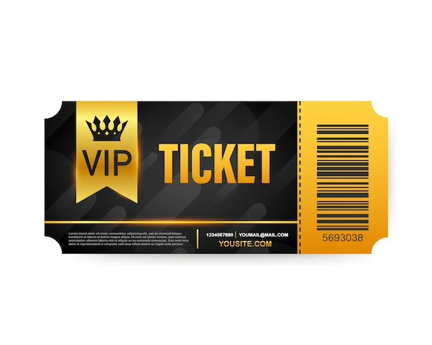 Vip club cards, members only gold ribbon