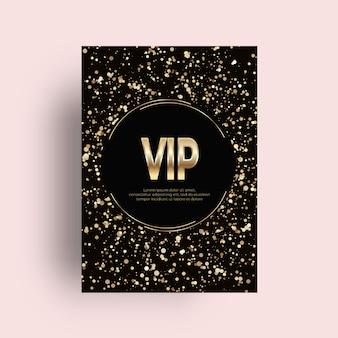 Vip golden card