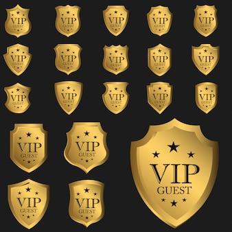 Vip guest badge luxury