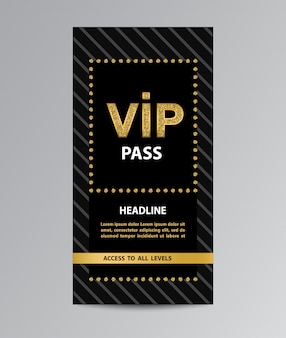 Vip pass admission