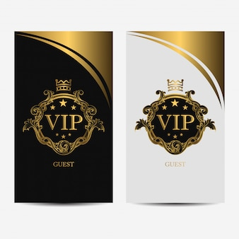 Vip premium luxury card