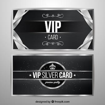 ヴィンテージの要素を持つヴィンテージシルバーカード
