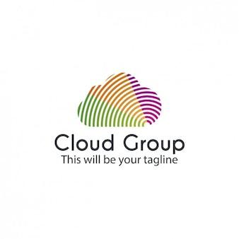 Virtual cloud logo
