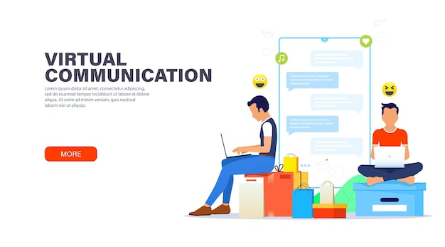 仮想コミュニケーション