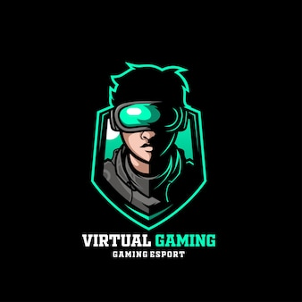 Virtual gaming man reality boy