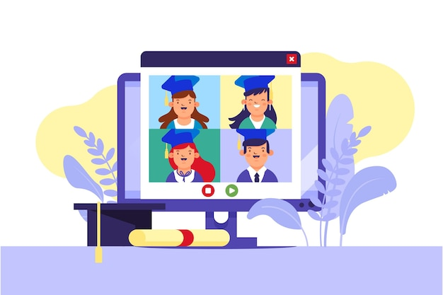 Virtual graduation ceremony
