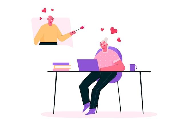 Виртуальные отношения в плоском дизайне