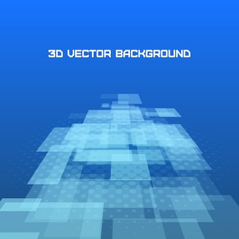 Virtual technology background