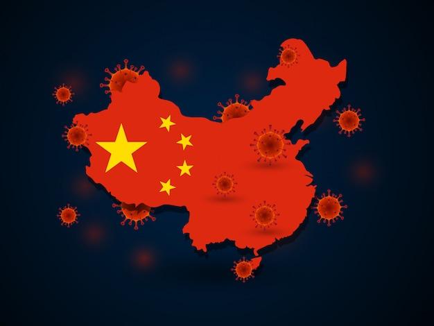 Virus around china
