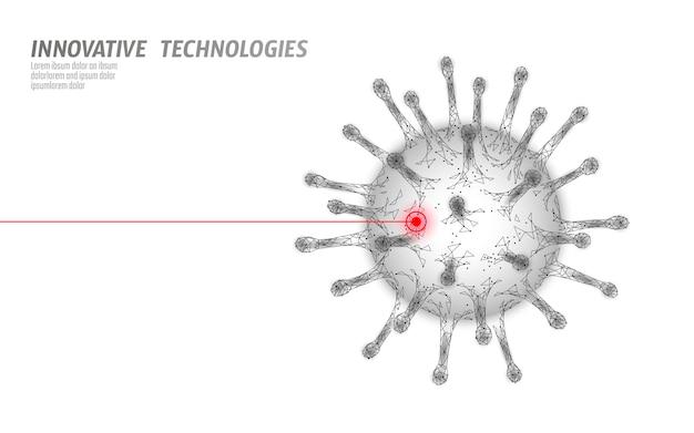 바이러스 세포 구조. 질병 감염 의학 건강 관리 개념입니다.
