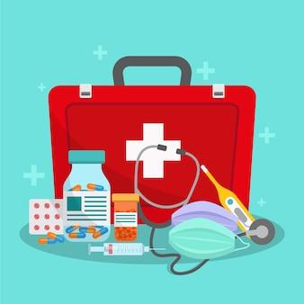 Концепция лечения вируса с помощью медицины