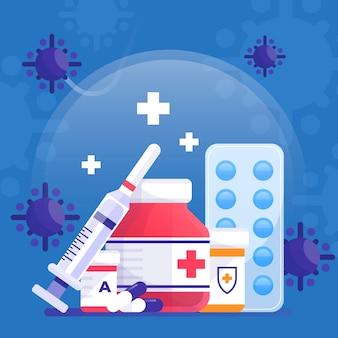 Virus cure concept