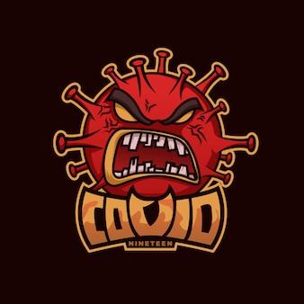 ウイルスのロゴ