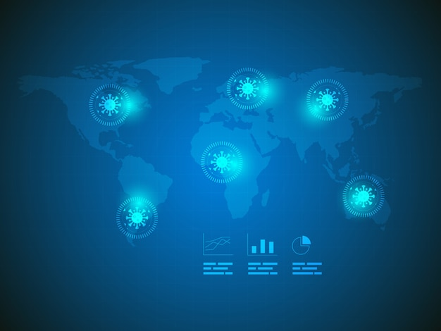 Virus search technology background