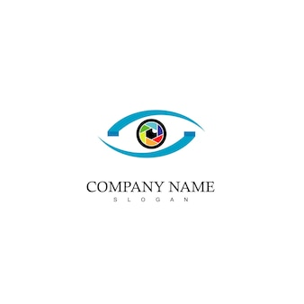 Vision logo photography symbol