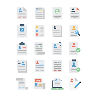 Учебная программа vitae line icons pack