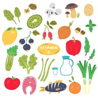 Набор источников питания с витамином с