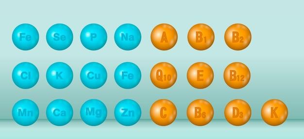 Vitamin and mineral complex