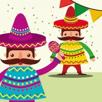 비바 멕시코 축하