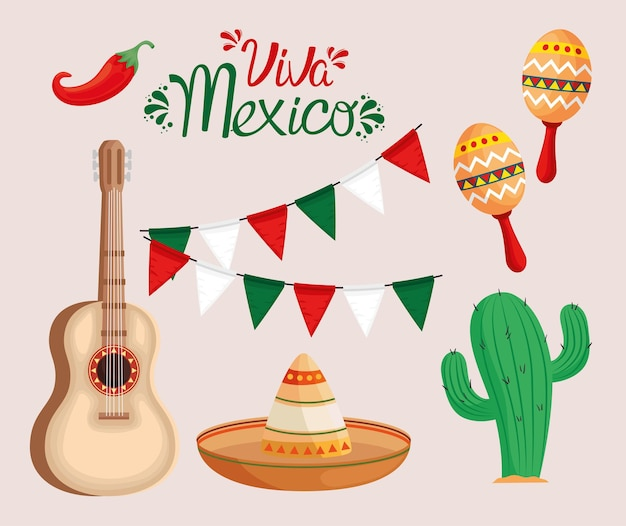 Viva mexico иконки