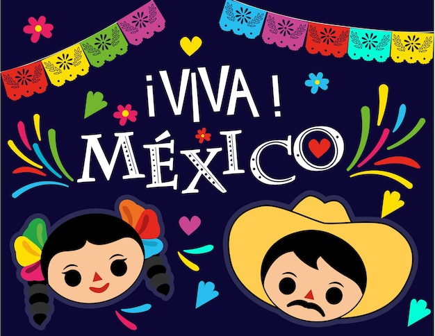 Viva mexico traditions party