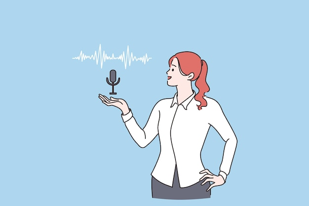 音声アシスタント話者認識の概念