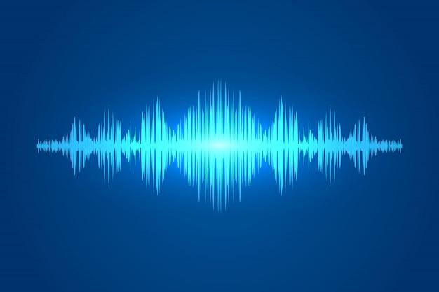 Голосовая звуковая волна, звуковая волна