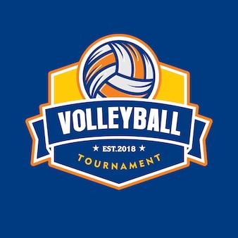 Volleyball tournament logo