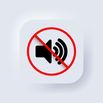스마트폰의 볼륨 끄기 또는 음소거 모드 기호. 스마트폰의 무음 모드. 벡터. 동적 기호입니다. 평화와 고요함의 상징, 가제트를 끄라는 요청. 스피커 아이콘입니다.